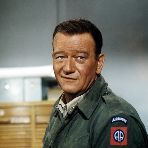 Picture of John Wayne in The Longest Day