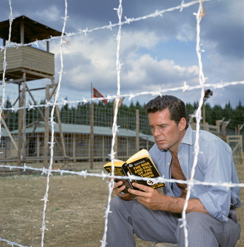 Picture of James Garner in The Great Escape