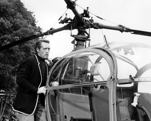 Picture of Patrick McGoohan in The Prisoner