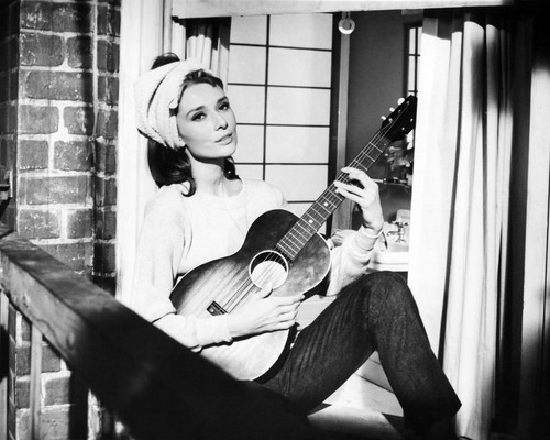 Picture of Audrey Hepburn in Breakfast at Tiffany&#039;s