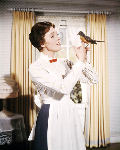 Picture of Julie Andrews in Mary Poppins