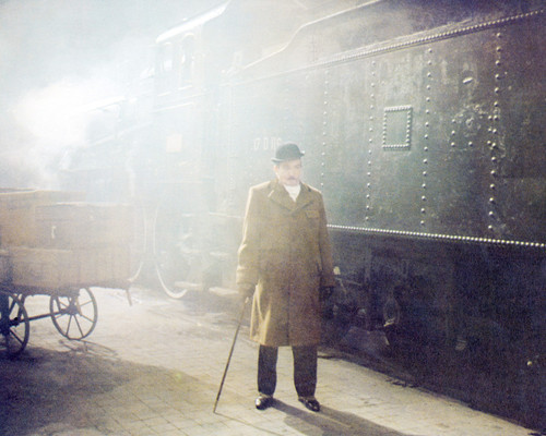 Picture of Albert Finney in Murder on the Orient Express
