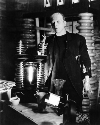 Picture of Boris Karloff in Frankenstein