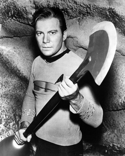Picture of William Shatner in Star Trek