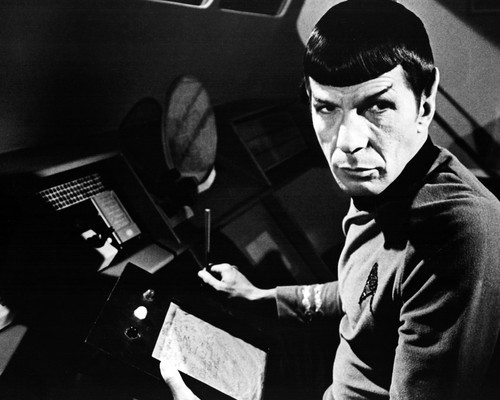 Picture of Leonard Nimoy in Star Trek