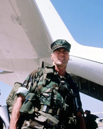 Picture of Clint Eastwood in Heartbreak Ridge
