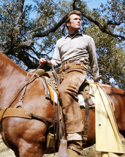 Picture of Clint Eastwood in Rawhide