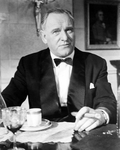 Picture of Bernard Lee in Goldfinger