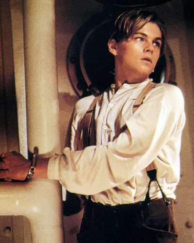 Picture of Leonardo DiCaprio in Titanic