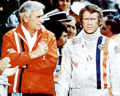 Picture of Steve McQueen in Le Mans