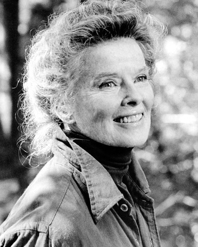 Picture of Katharine Hepburn in On Golden Pond