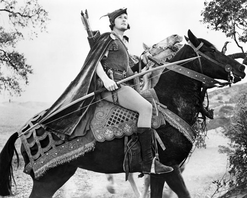 Picture of Errol Flynn in The Adventures of Robin Hood