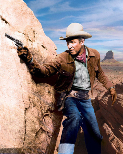Picture of James Stewart in The Man from Laramie