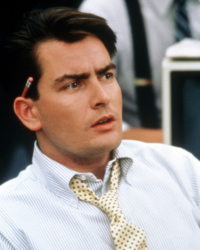 Picture of Charlie Sheen in Wall Street