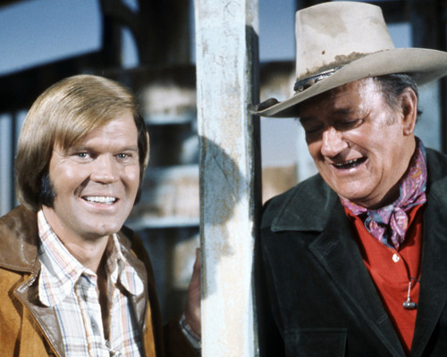 Picture of John Wayne in The Glen Campbell Goodtime Hour