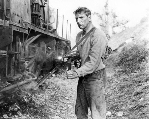 Picture of Burt Lancaster in The Train
