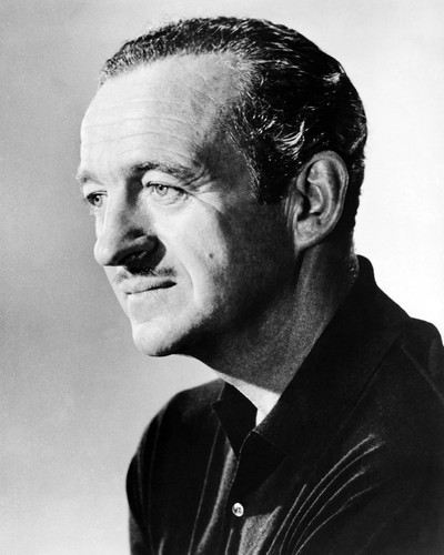 Picture of David Niven in The Guns of Navarone