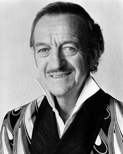 Picture of David Niven in Trail of the Pink Panther