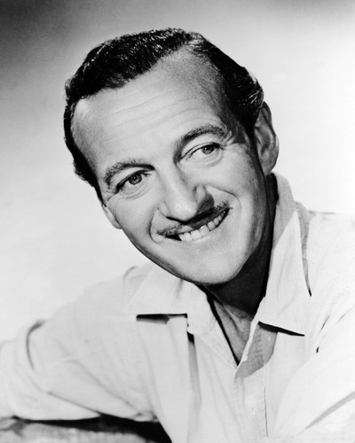 Picture of David Niven in Bonjour tristesse