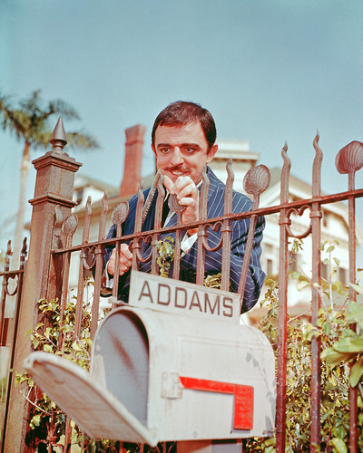 Picture of John Astin in The Addams Family