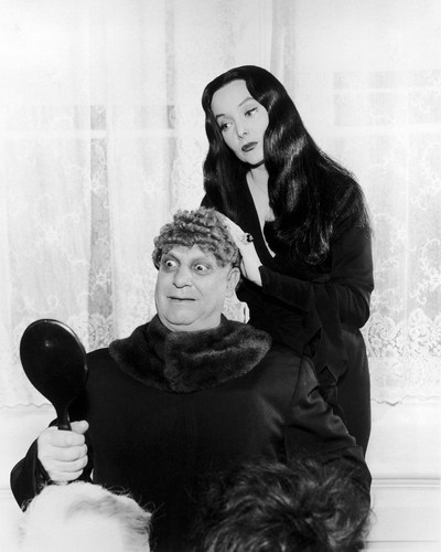 Picture of Carolyn Jones in The Addams Family