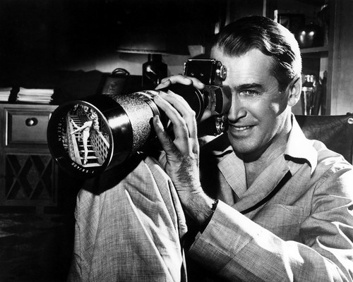 Picture of James Stewart in Rear Window