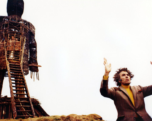 Picture of Christopher Lee in The Wicker Man