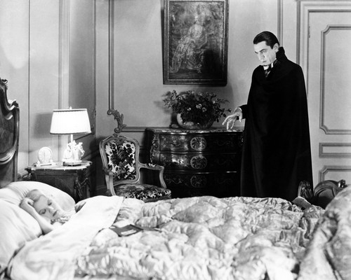 Picture of Bela Lugosi in dracula