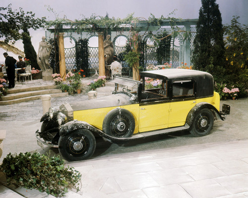 Picture of The Yellow Rolls-Royce