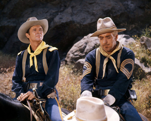 Picture of Audie Murphy in Apache Rifles