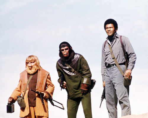 Picture of Roddy McDowall in Battle for the Planet of the Apes
