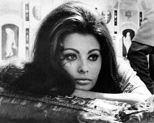 Picture of Sophia Loren in The Fall of the Roman Empire
