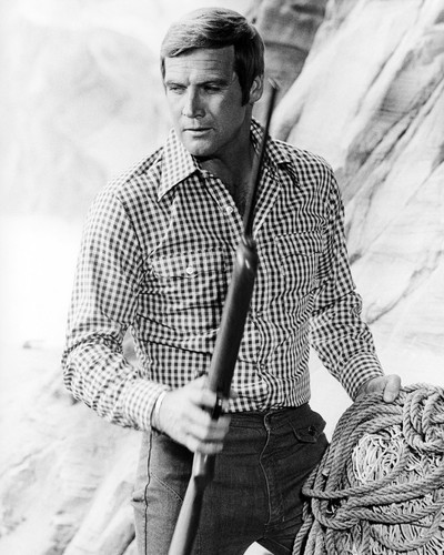 Picture of Lee Majors in The Six Million Dollar Man