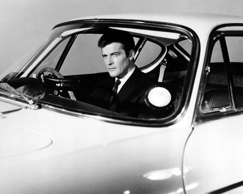 Picture of Roger Moore in The Saint