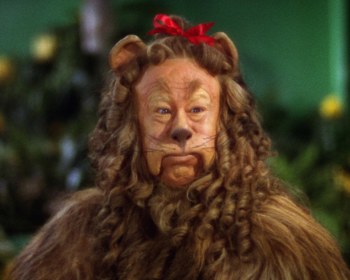 Picture of Bert Lahr in The Wizard of Oz