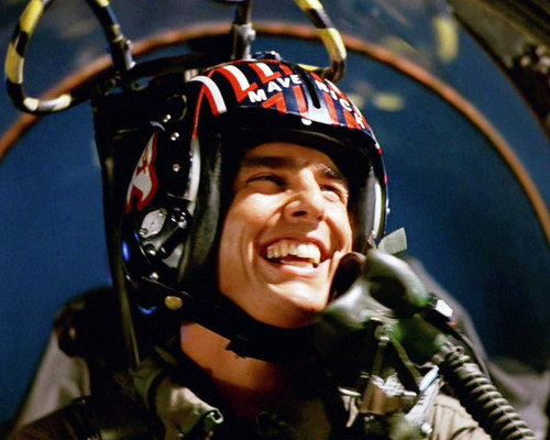 Picture of Tom Cruise in Top Gun