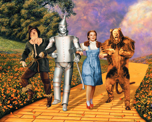 Picture of Judy Garland in The Wizard of Oz