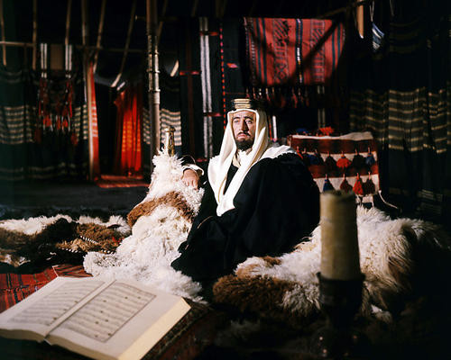 Picture of Alec Guinness in Lawrence of Arabia