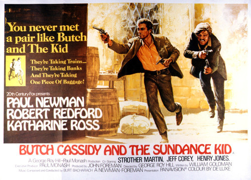 Poster Print of Butch Cassidy and the Sundance Kid