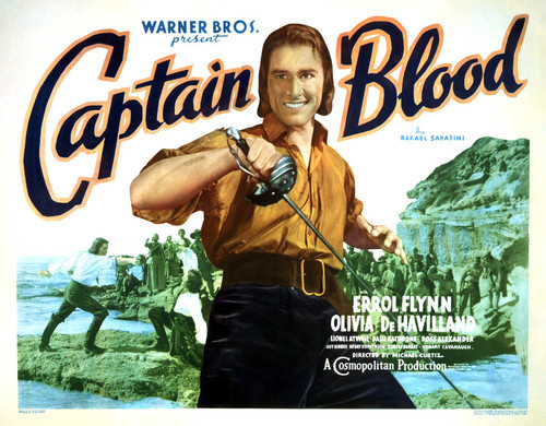 Poster Print of Captain Blood