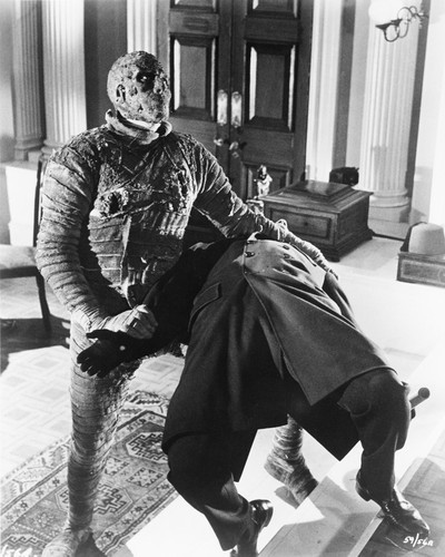 Picture of Christopher Lee in The Mummy