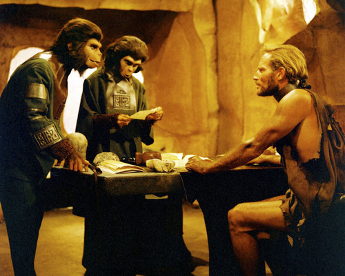 Picture of Charlton Heston in Planet of the Apes