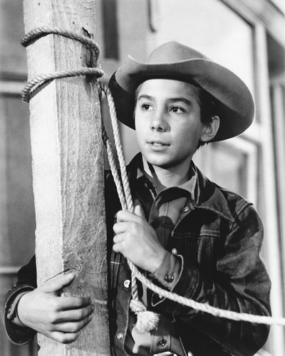 Picture of Johnny Crawford in The Rifleman