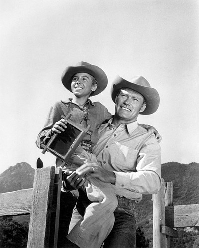 Picture of Chuck Connors in The Rifleman