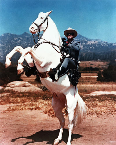 Picture of Clayton Moore in The Lone Ranger