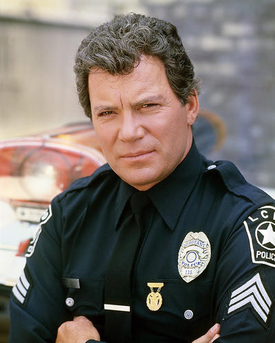 Picture of William Shatner in T.J. Hooker