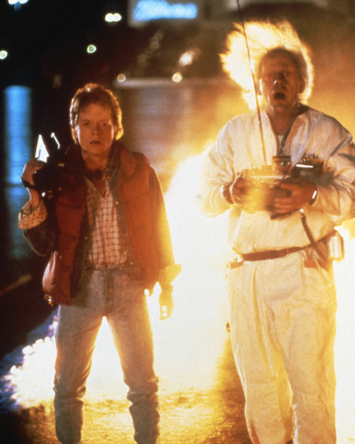 Picture of Michael J. Fox in Back to the Future