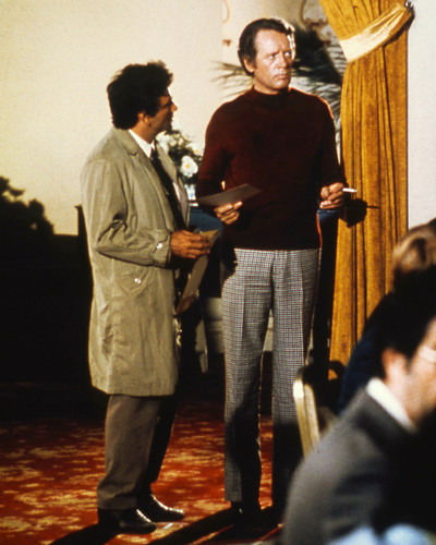 Picture of Peter Falk in Columbo