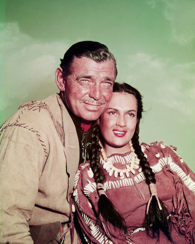 Picture of Clark Gable in Across the Wide Missouri