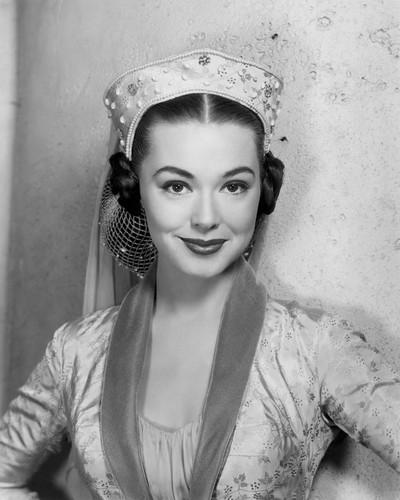 Picture of Barbara Rush in The Black Shield of Falworth